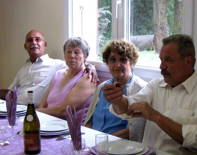 <br />Kader, Elvire, Aimée et Daniel.<br /><br /><br />